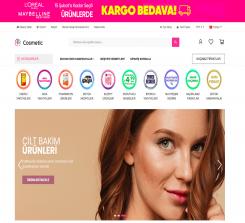 Kozmetik E-Ticaret Web Sitesi Yazılımı