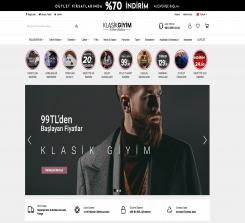 Giyim E-Ticaret Web Sitesi Yazılımı