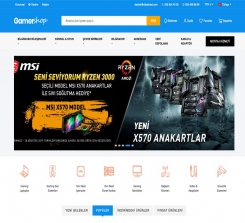 Technology Products E-Commerce Website Software