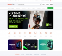 Electronic  E-Commerce Website Software