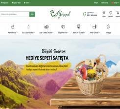 Doğal & Yöresel Ürün E-Ticaret Web Sitesi Yazılımı