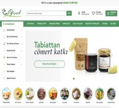 Yöresel & Doğal Ürün E-Ticaret Web Sitesi Yazılımı
